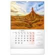 Nástenný kalendár Krajina 2022, 33 × 46 cm