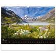 Nástenný kalendár Krajiny 2022, 48 × 33 cm