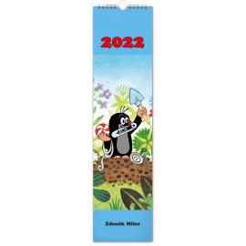 Nástenný kalendár Krtko 2022, 12 × 48 cm