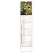 Nástenný kalendár Květiny – Kvety CZ/SK 2021, 12 × 48 cm
