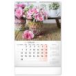 Nástenný kalendár Kvety 2022, 33 × 46 cm