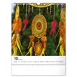 Nástenný kalendár Lapač snov 2022, 30 × 34 cm