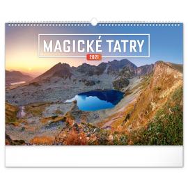 Nástenný kalendár Magické Tatry 2021, 48 × 33 cm