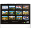 Nástenný kalendár Magické Tatry 2022, 48 × 33 cm