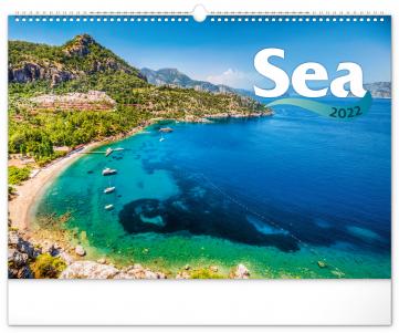 Nástenný kalendár More 2022, 48 × 33 cm