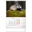 Nástenný kalendár Poľovnícky 2022, 33 × 46 cm
