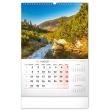 Nástenný kalendár Naše Slovensko 2022, 33 × 46 cm