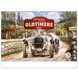 Nástenný kalendár Oldtimers – Václav Zapadlík 2022, 64 × 42 cm