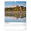 Nástenný kalendár Pamätihodnosti Slovenska SK 2021, 30 × 34 cm