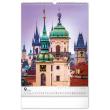Nástenný kalendár Praha 2022, 33 × 46 cm