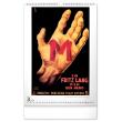 Nástenný kalendár Filmové plagáty 30. rokov 2021, 33 × 46 cm