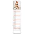 Nástenný kalendár Spicy Girls CZ/SK 2022, 12 × 48 cm