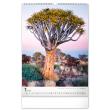Nástenný kalendár Stromy 2022, 33 × 46 cm
