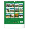 Nástenný kalendár Toulky českou krajinou CZ 2021, 30 × 34 cm