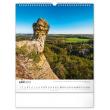Nástenný kalendár Potulky českou krajinou CZ 2022, 30 × 34 cm
