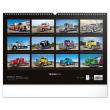 Nástenný kalendár Trucks 2021, 48 × 33 cm