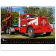 Nástenný kalendár Trucks 2022, 48 × 33 cm