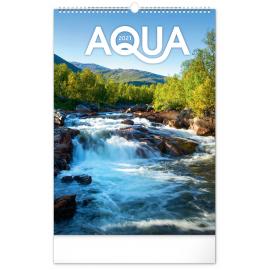 Nástenný kalendár Voda 2021, 33 × 46 cm