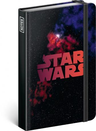 Notes Star Wars – Universe, linajkovaný, 11 × 16 cm