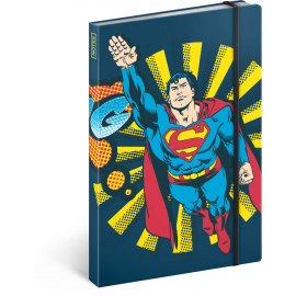 Notes Superman – Bang, linajkovaný, 13 x 21 cm