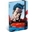 Notes Superman – World Hero, linajkovaný, 11 × 16 cm