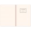 Notes Vivella Classic čierny/oranžový, linajkovaný, 15 × 21 cm