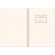 Notes Vivella Classic čierny/oranžový, bodkovaný, 15 × 21 cm