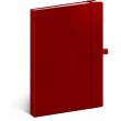 Notes Vivella Classic červený/červený, bodkovaný, 15 × 21 cm