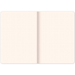Notes Vivella Classic modrý/biely, bodkovaný, 15 × 21 cm