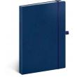 Notes Vivella Classic modrý/modrý, bodkovaný, 15 x 21 cm