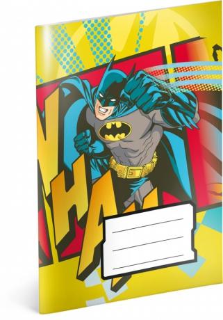 Notesík Batman, A6, 20 listov, linajkovaný