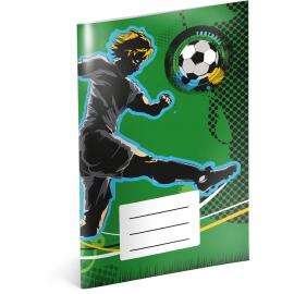 Notesík Futbal, A6, 20 listov, linajkovaný