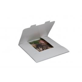 Obálka darčeková na kalendáre 30x30 cm - biela, balenie 3 kusy