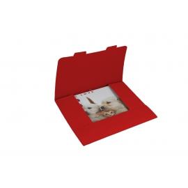 Obálka darčeková na kalendáre 30x30 cm - červená, balenie 3 kusy