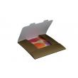 Obálka darčeková na kalendáre 30x30 cm - zlatá, balenie 3 kusy
