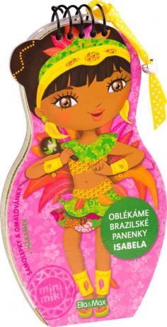 Oblékáme brazilské panenky - ISABELA