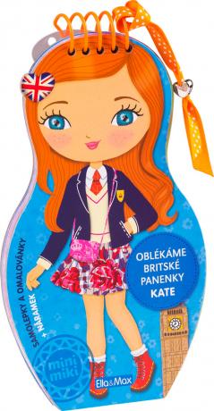 Oblékáme britské panenky - KATE