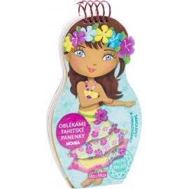 Oblékáme tahitské panenky Mohea - maľovanky