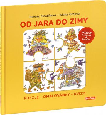Od JARI DO ZIMY- Puzzle, básničky, maľovanky, kvízy