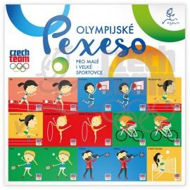 Pexeso na archu Český olympijský team