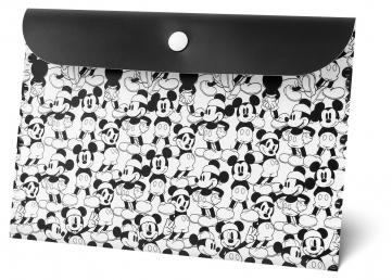 Plastová kapsa s klopou Mickey, A5