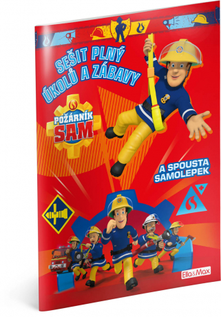 Požárník Sam - Červená kniha aktivít