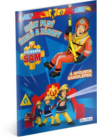 Požárník Sam - Modrá kniha aktivít