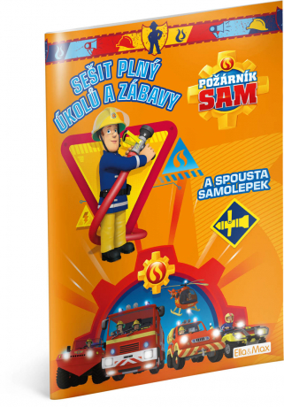 Požárník Sam - Oranžová kniha aktivít
