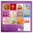 Poznámkový kalendár Babies – Věra Zlevorová 2021, 30 × 30 cm