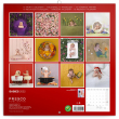 Poznámkový kalendář Babies – Věra Zlevorová 2022, 30 × 30 cm