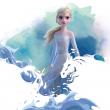 Poznámkový kalendár Frozen – Ľadové kráľovstvo II 2021, s 50 samolepkami, 30 × 30 cm
