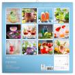Poznámkový kalendár Gin & Tonik 2021, 30 × 30 cm
