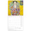 Poznámkový kalendář Gustav Klimt 2022, 30 × 30 cm