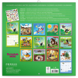 Poznámkový kalendár Krtko 2022, s 50 samolepkami, 30 × 30 cm